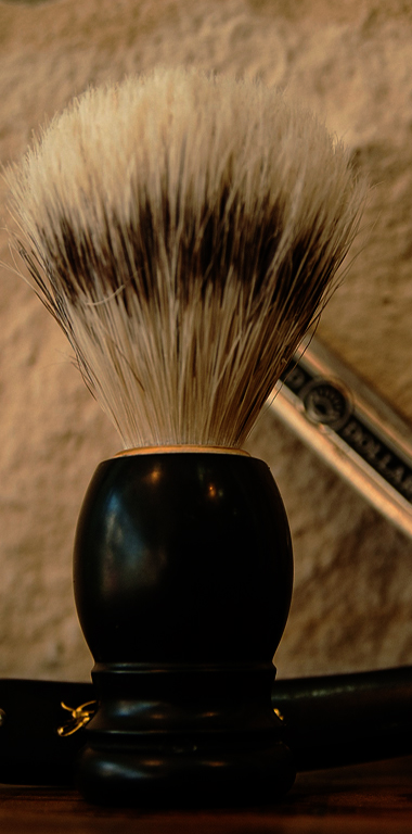 barber's brush tool